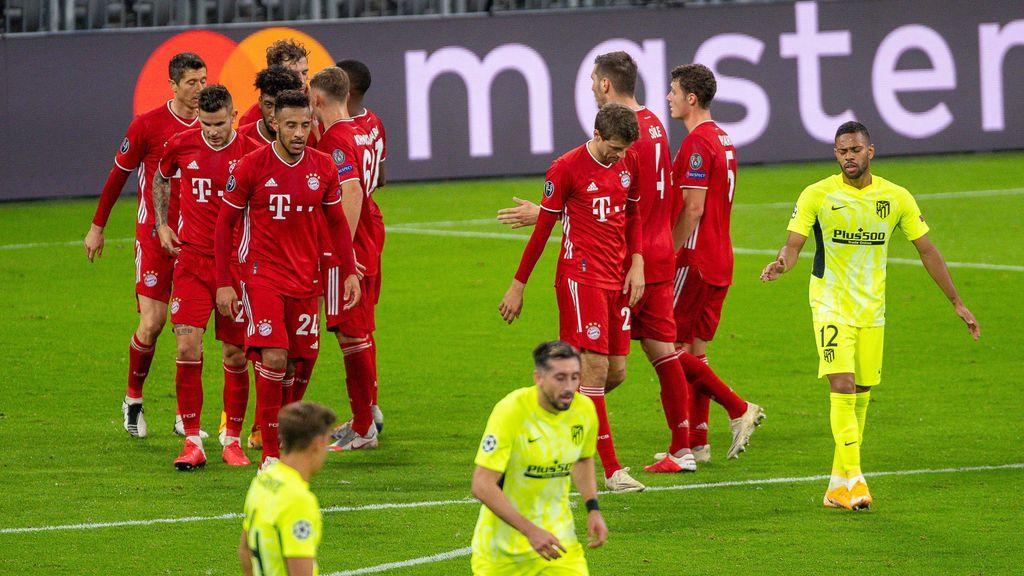 Un Bayern poco exigido consigue la victoria ante un Atlético de Madrid que intentó plantar cara (-0)