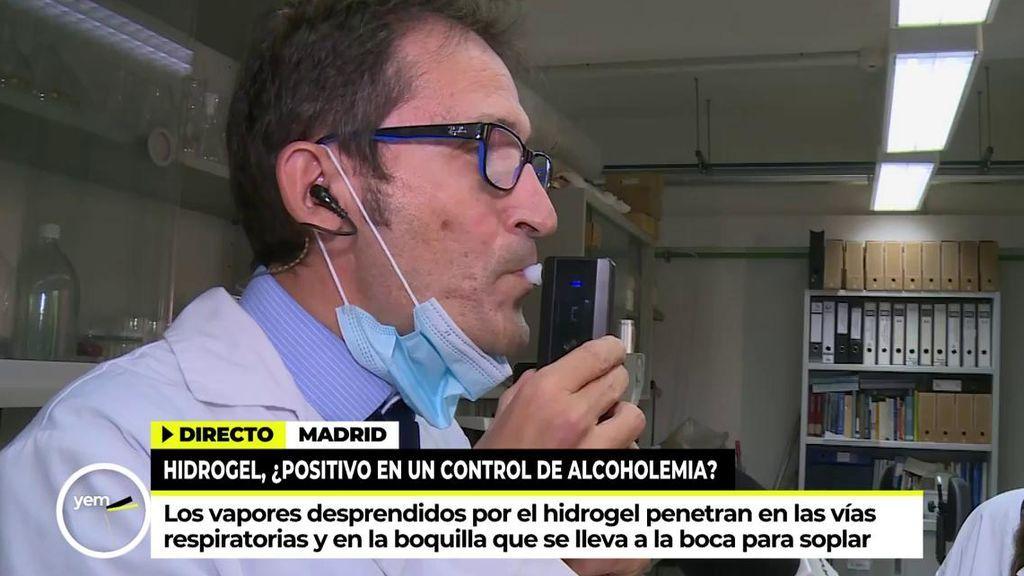 Ricardo Díaz hace la prueba