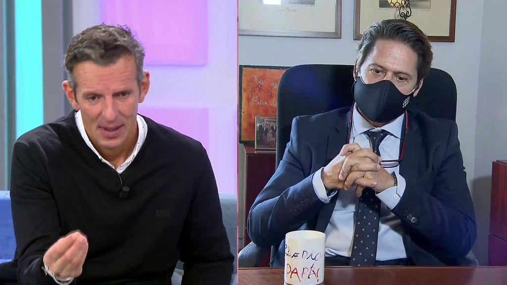 El abogado de Nacho Palau habla por primera vez en televisión sobre el juicio con Miguel Bosé