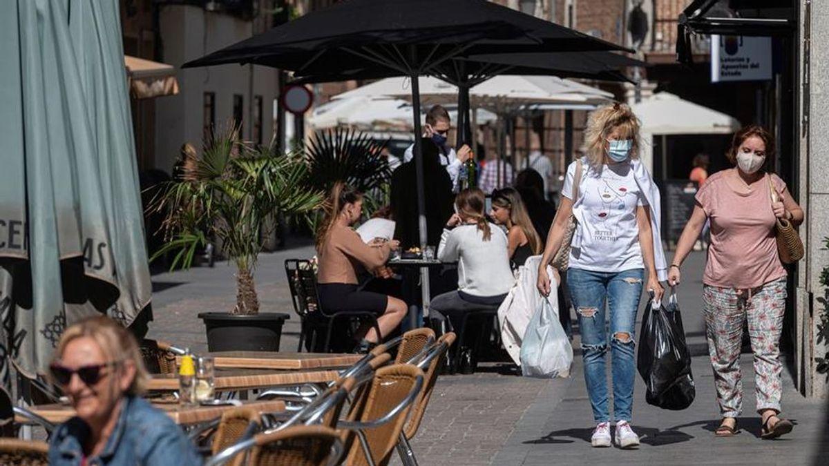 España alcanza el millón de contagios de covid19, 6.114 en las últimas 24 horas
