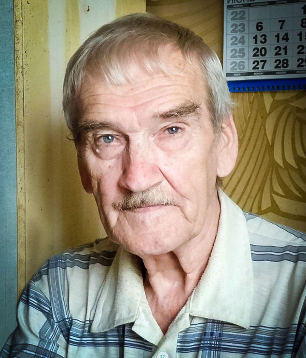 Stanislaw Petrov en 2016, un año antes de su muerte.