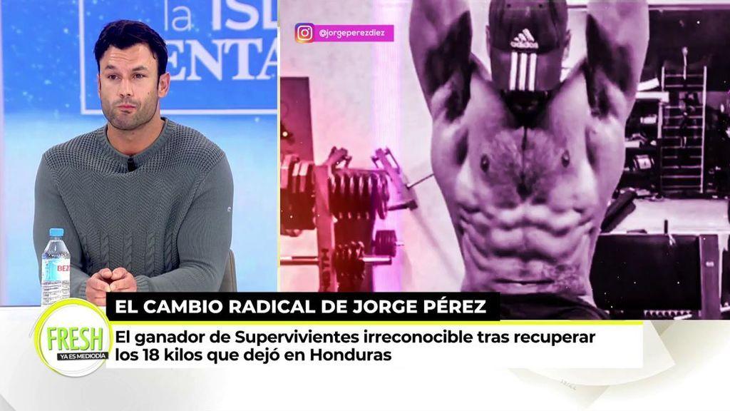 El nuevo Jorge Pérez: el ganador de 'Supervivientes' presume de cuerpo tras recuperar 18 kilos