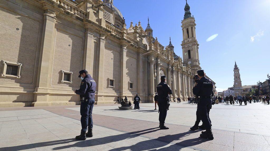 Zaragoza, Huesca y Teruel, confinadas perimetralmente
