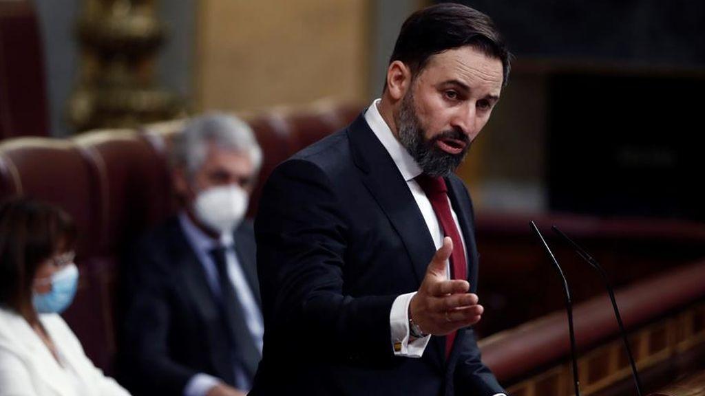 """Abascal pide el voto al PP y al PSOE para convocar """"elecciones libres e inmediatas""""  ante un Congreso indiferente"""