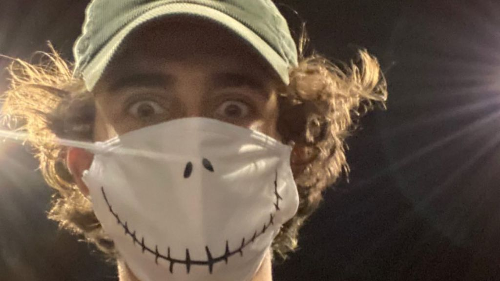 Mascarilla de Halloween