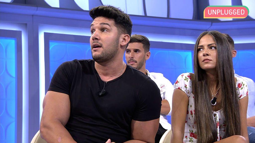 Melyssa Pinto y Alberto Santana