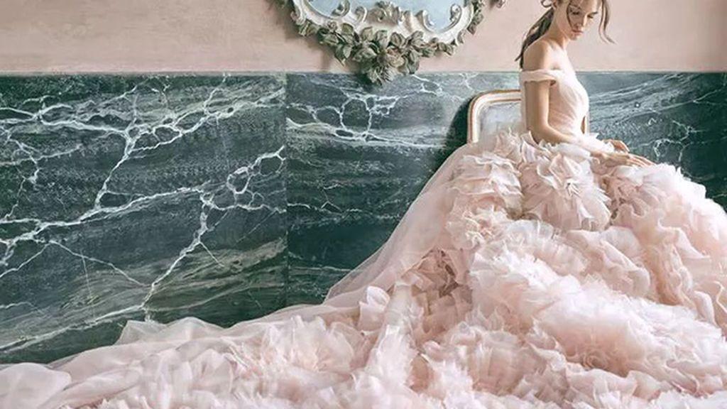 La alternativa al blanco: atrévete con los vestidos de novia de colores