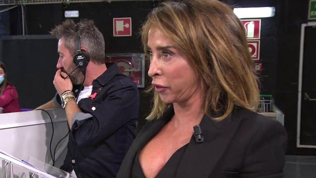 """María Patiño pierde la paciencia con Chelo Gª Cortés y se va de plató gritando: """"¡Estoy hasta las narices!"""""""