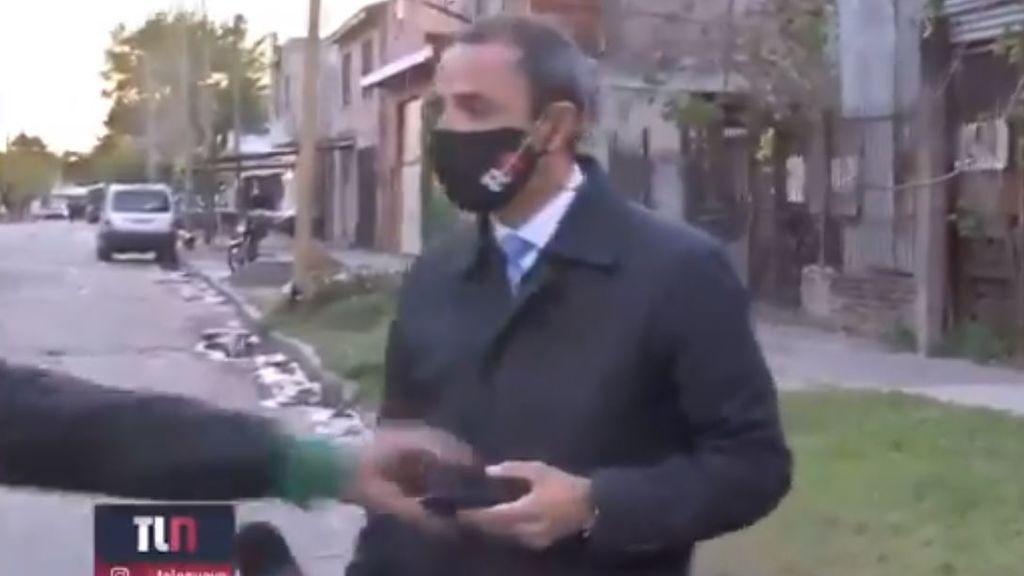 Le roban el móvil a un reportero y la grabación de la persecución se hace viral
