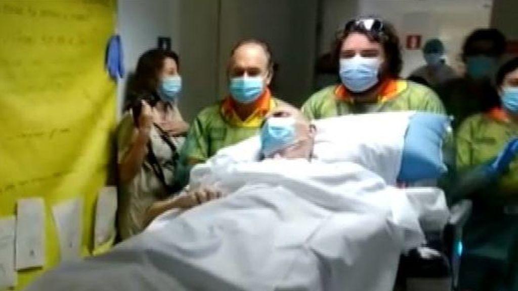 Muere un mes después de dejar la UCI Ángel Mateos, el paciente que más tiempo estuvo ingresado por coronavirus