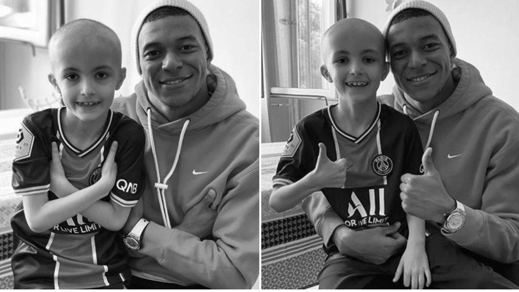 """Mbappé, devastado tras la muerte de un niño por culpa del cáncer: """"Es muy difícil encontrar las palabras, pero necesito rendirle homenaje"""""""
