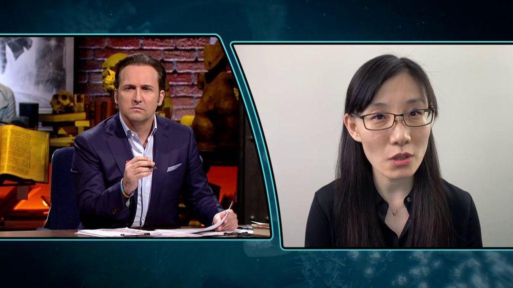 """La Dra. Li-Meng Yan, sobre el inicio de la pandemia: """"El gobierno chino no divulgó la información que tenía, no querían que se supiera"""""""