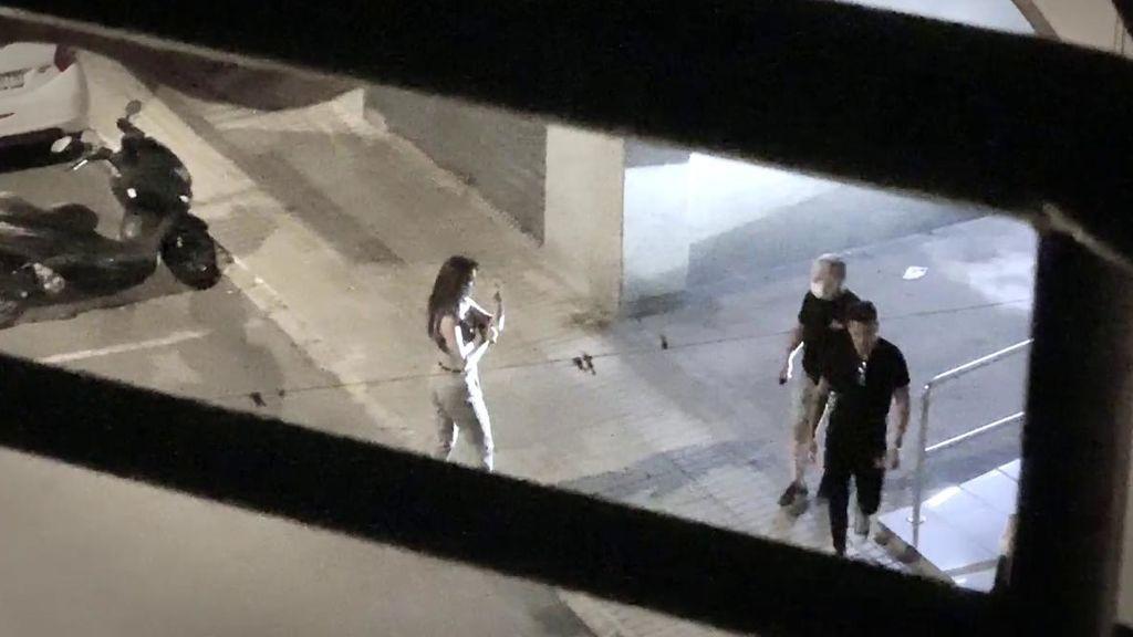 """La bronca de Melodie y Cristian en plena calle: """"¡¡Eres bajo, reventado y ridículo!!"""""""