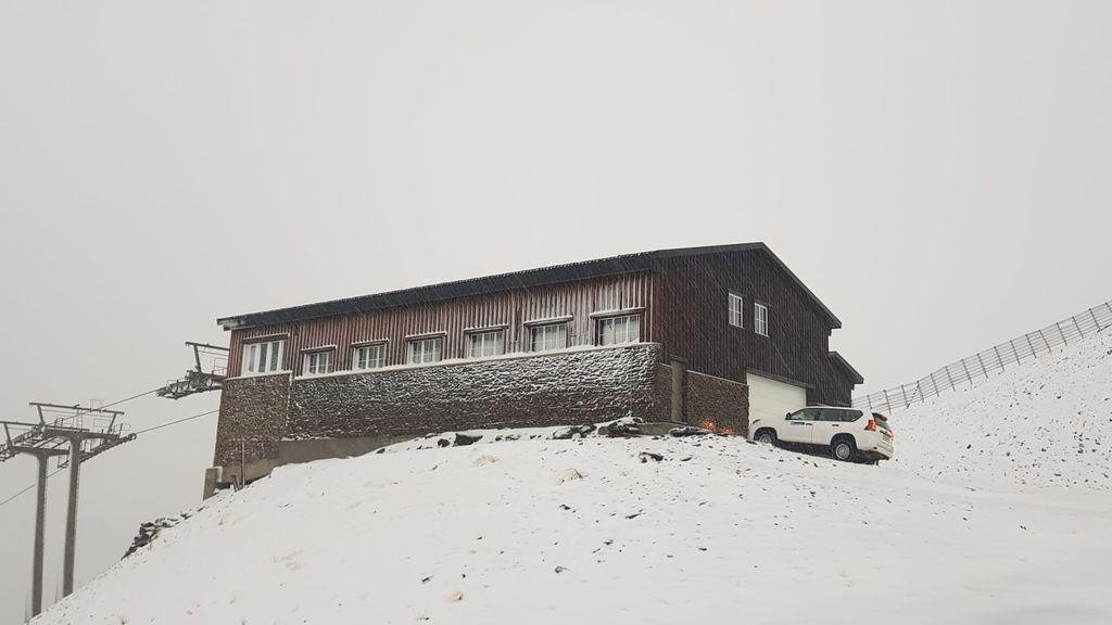 'Bárbara' deja la primera gran nevada de la temporada en Sierra Nevada