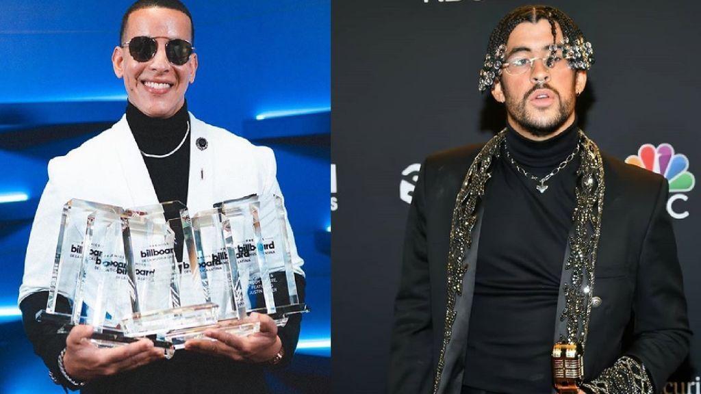 Daddy Yankee y Bad Bunny reinan en los Latin Billboards con siete premios cada uno