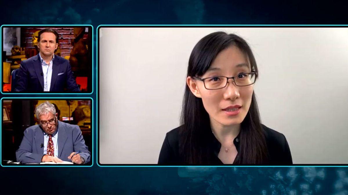 La viróloga Li-Men Yang, en 'Informe Covid'