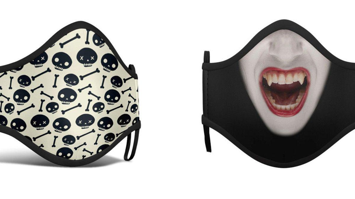 Mascarillas temáticas homologadas y decoración para el hogar: las tendencias para este Halloween de pandemia