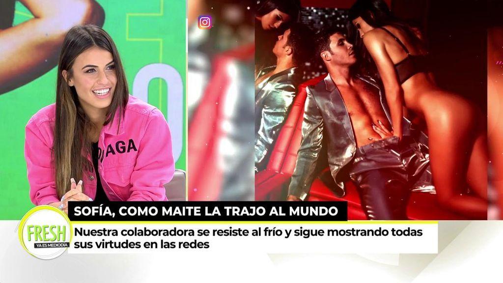"""Sofía Suescun y sus fotos subidas de tono en redes sociales: """"Yo me abrigo pero soy exhibicionista"""""""