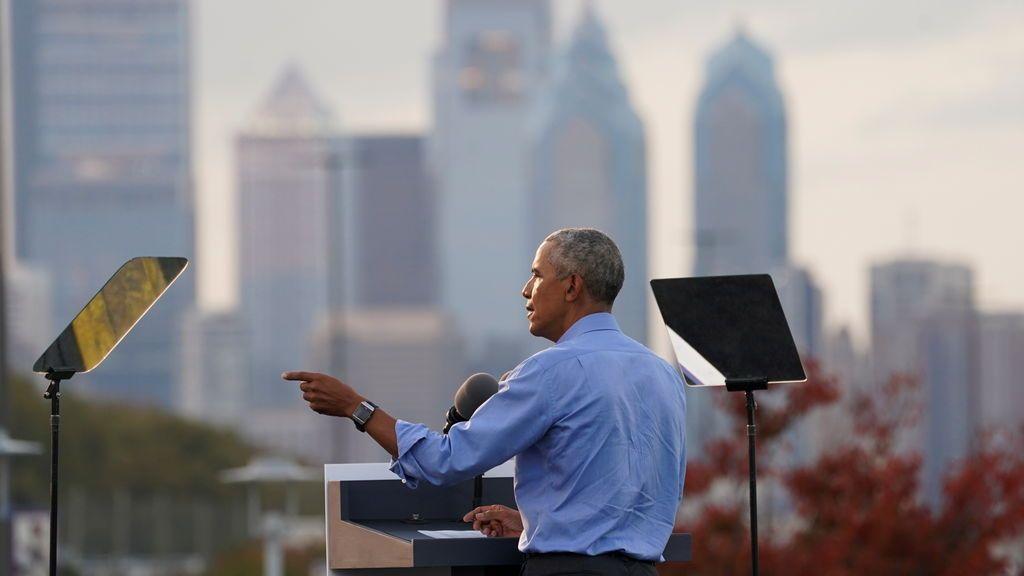 """Obama al rescate de Biden: """"No nos podemos permitir cuatro años más así"""""""