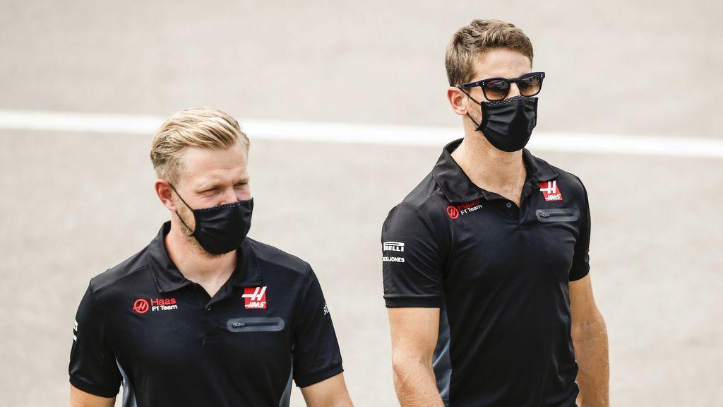 Haas anuncia el adiós de Magnussen y Grosjean: el equipo norteamericano ya busca a sus sustitutos