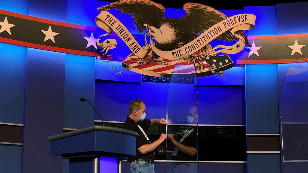 Trump- Biden: el último debate presidencial de una campaña caótica