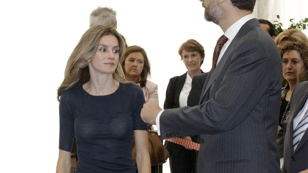 Los reyes inaguran el nuevo polígono industrial de Miranda de Ebro  (2010)
