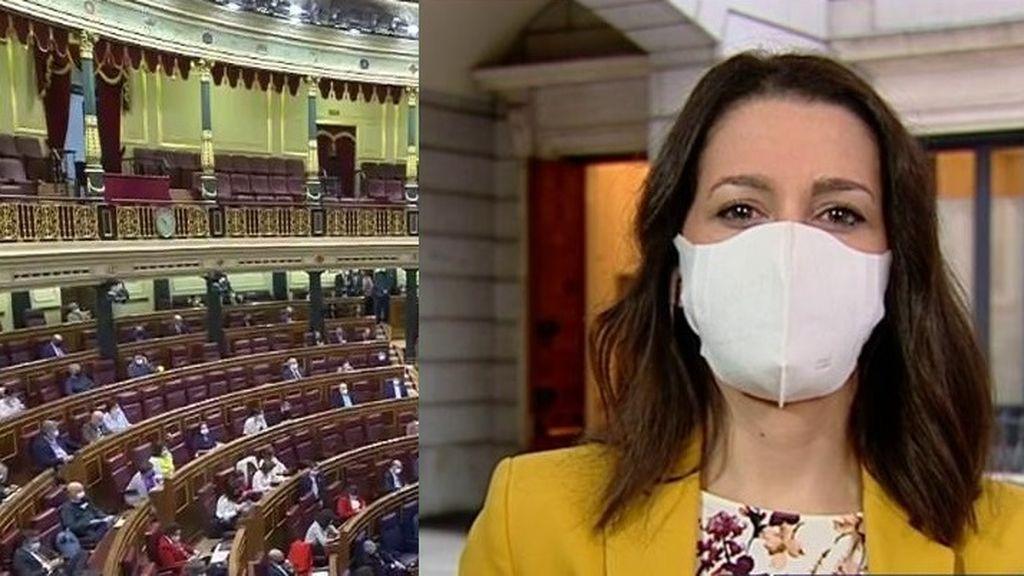 Inés Arrimada critica abiertamente a los políticos del Congreso