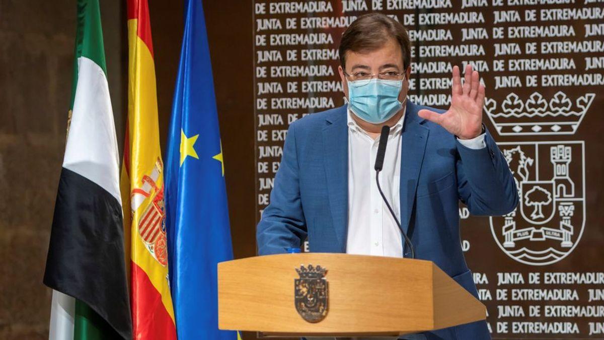 Extremadura y La Rioja piden el estado de alarma al Gobierno ante el avance del coronavirus