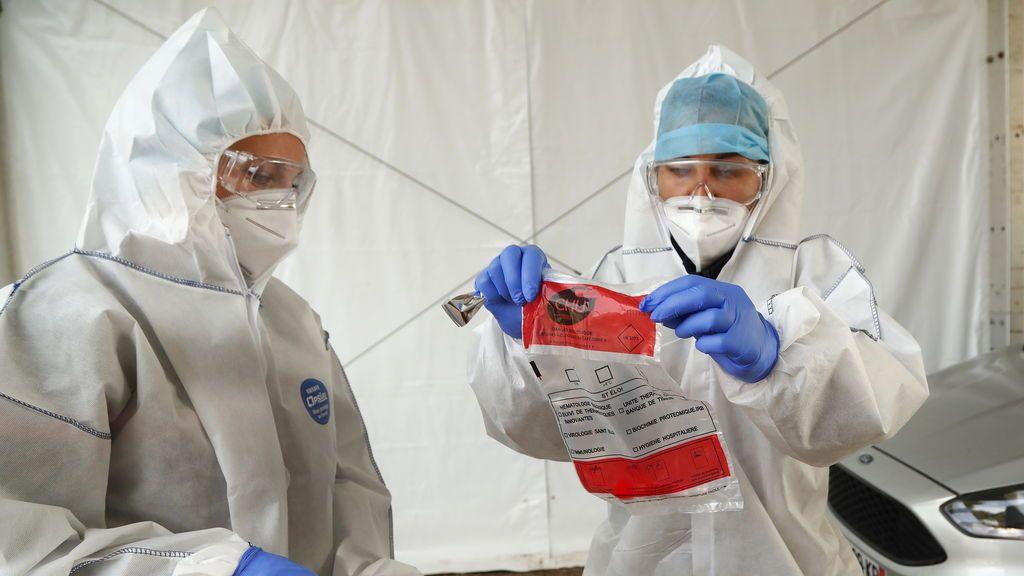 Francia supera el millón de contagiados por coronavirus tras sumar 42.032 nuevos casos