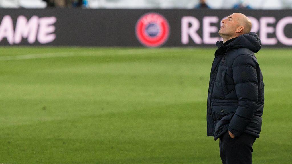 """En el Real Madrid se empiezan ya a cuestionar la continuidad de Zidane: """"Hay dudas sobre su valía para seguir con el proyecto"""""""