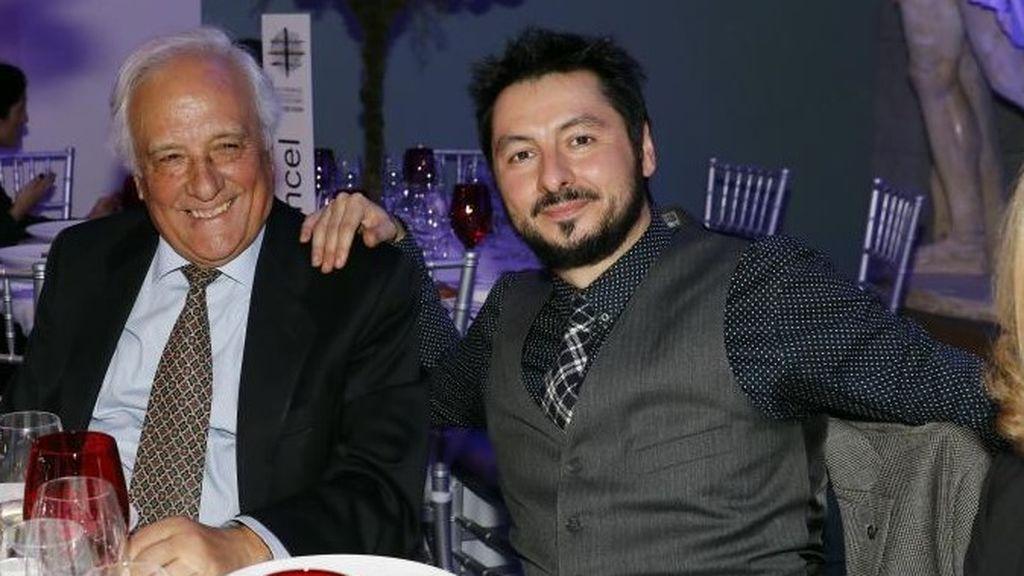 Del Pozo, con Antonio Lucas en diciembre de 2018.