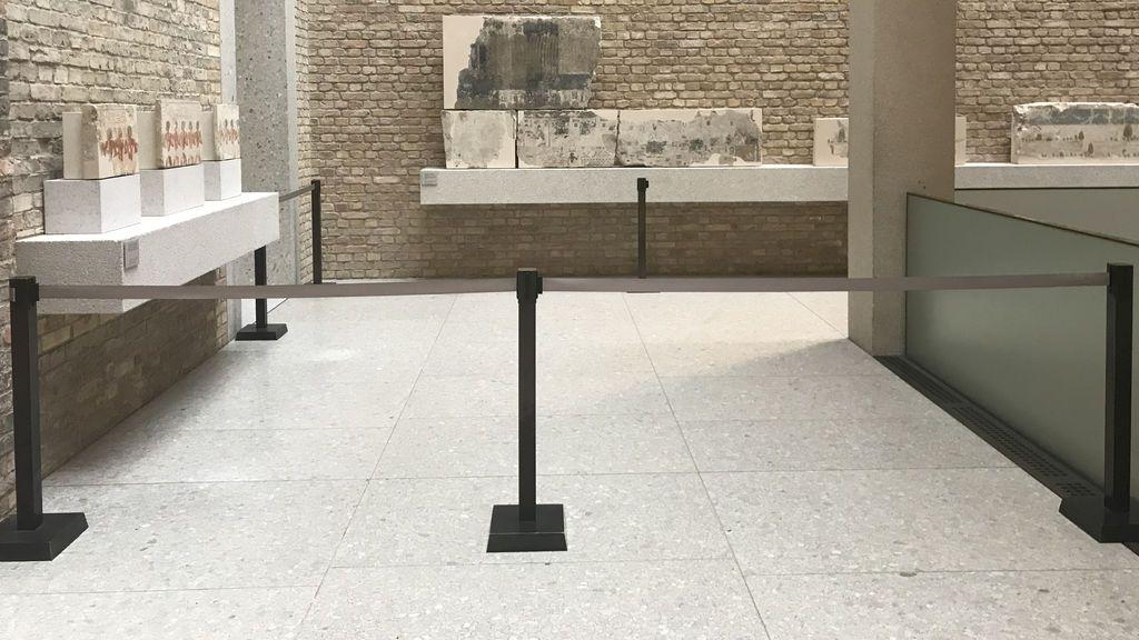 """63 """"víctimas"""" en un misterioso ataque contra obras de arte en la Isla de los Museos de Berlín"""