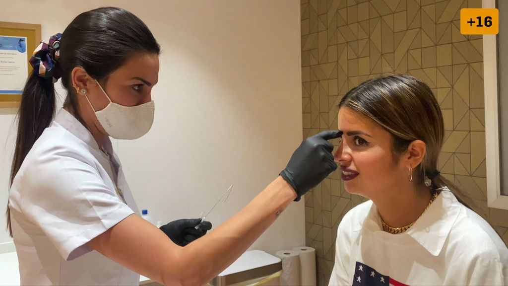 Natalia Osona se somete a una rinomodelación y enseña el resultado de su nariz (1/2)
