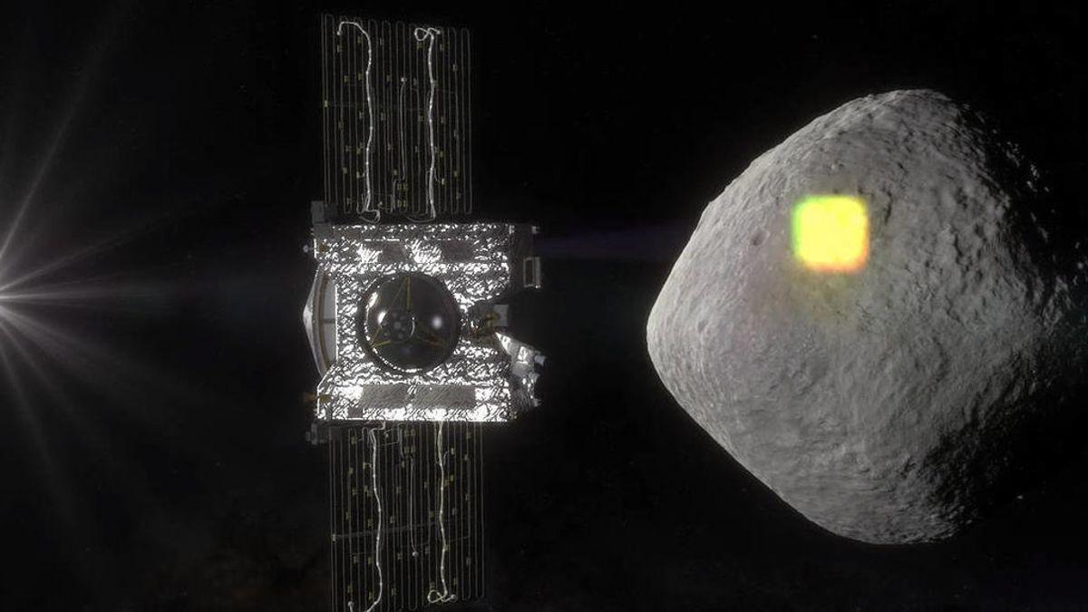 Así se produjo la recogida de muestras del asteroide Bennu  por la nave OSIRIS-REx de la NASA