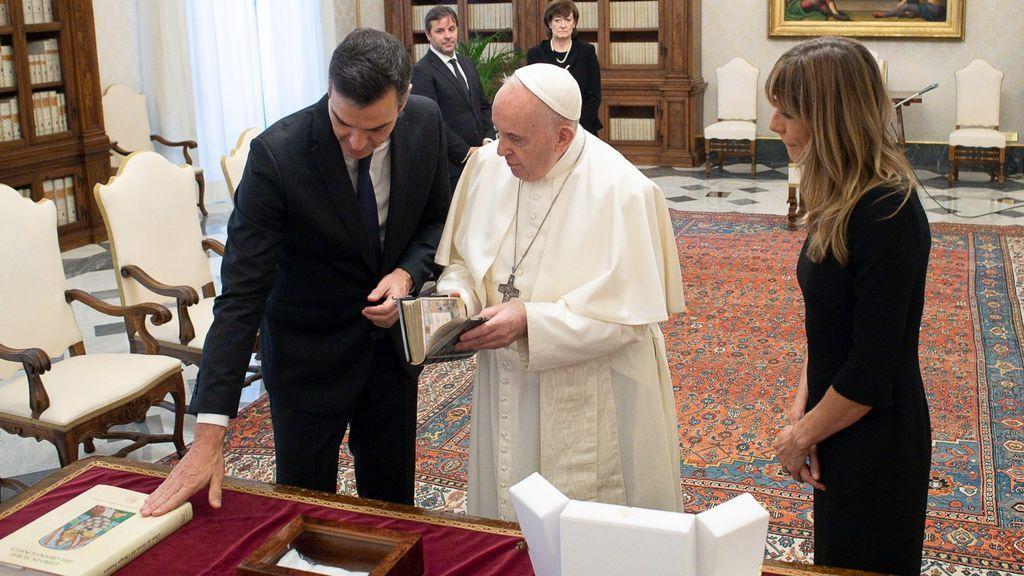 Sánchez llega a Roma para reunirse con el papa