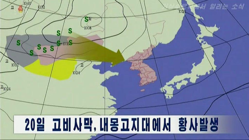 Corea del Norte dice que el polvo amarillo procedente de China podría traer el coronavirus al país