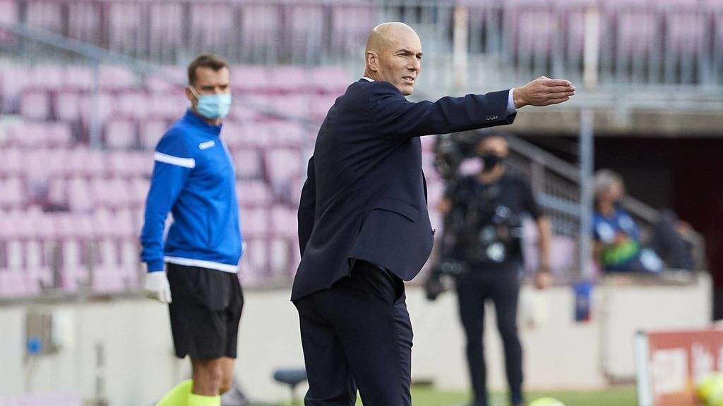 Zidane saca pecho en los 'Clásicos': cinco victorias e invicto en el Camp Nou