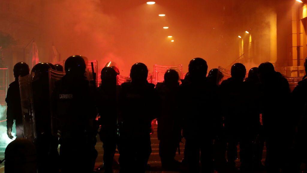 Incidentes en Nápoles