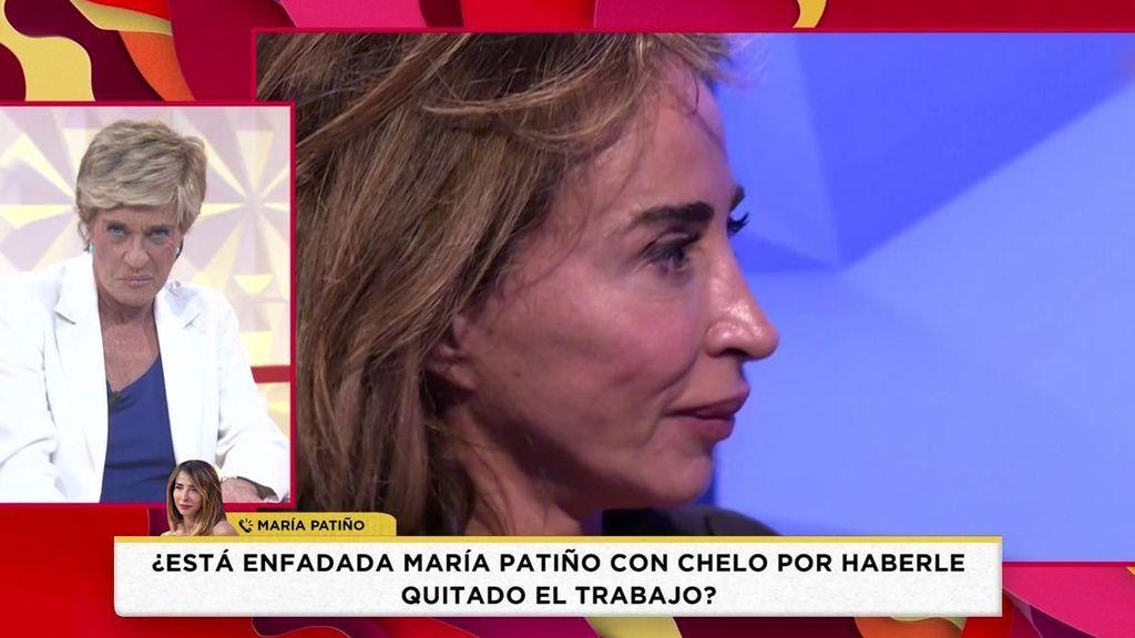 """Patiño habla con Chelo tras """"arrebatarle"""" el programa y responde a Jorge Javier: """"Me molesta que se burlen de mi"""""""