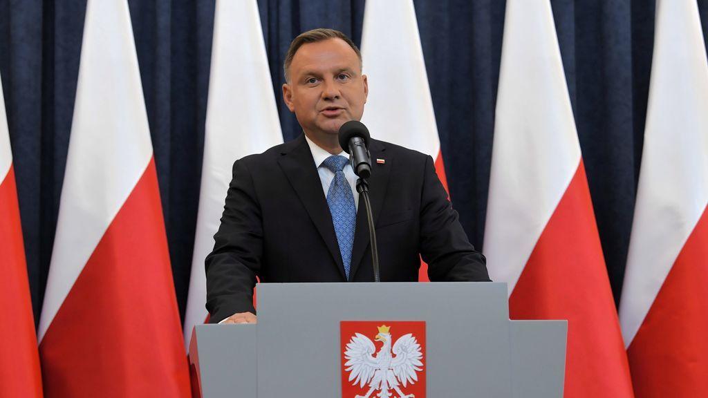 El presidente de Polonia da positivo en coronavirus