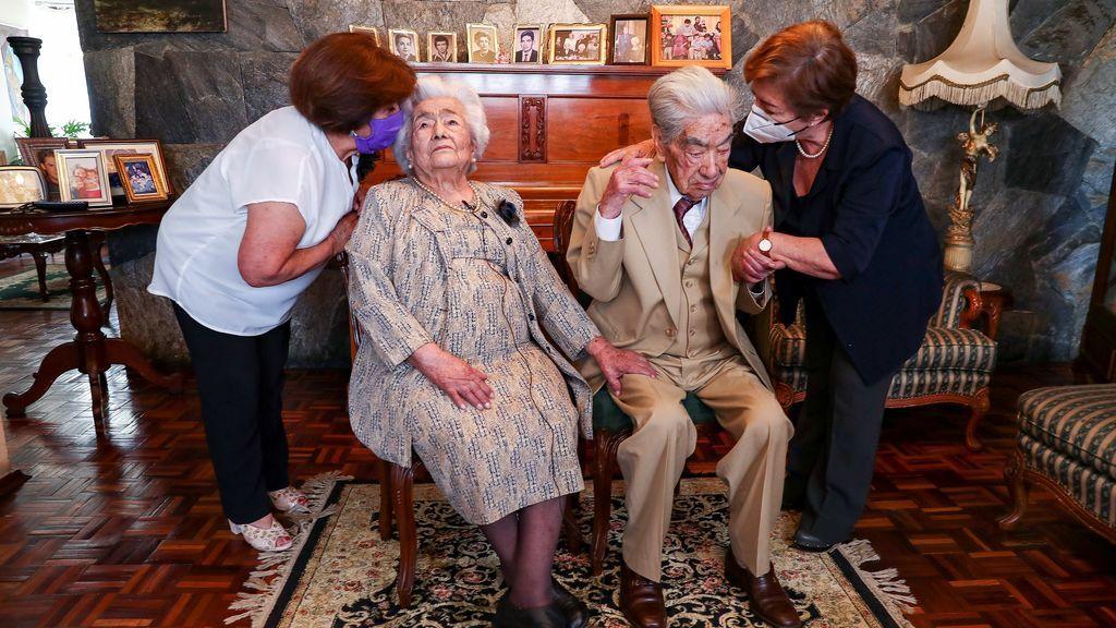 Muere a los 110 años el marido de la pareja más longeva del mundo