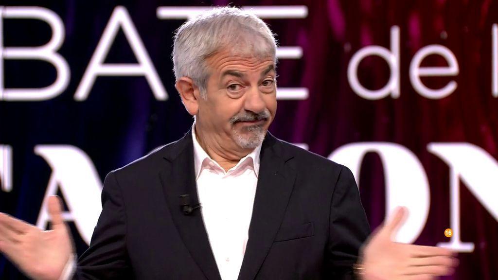 El alegato de Carlos Sobera a favor de Telecinco