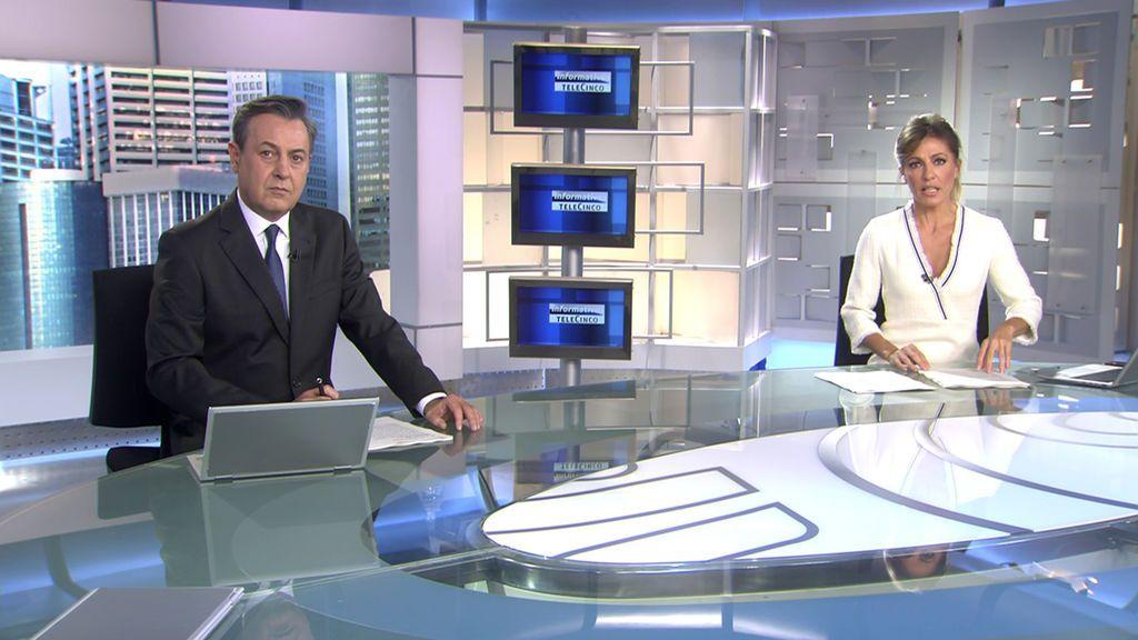 Con José Ribagorda y Ángeles Blanco Informativos Telecinco 2020 Mediodía 25/10/2020
