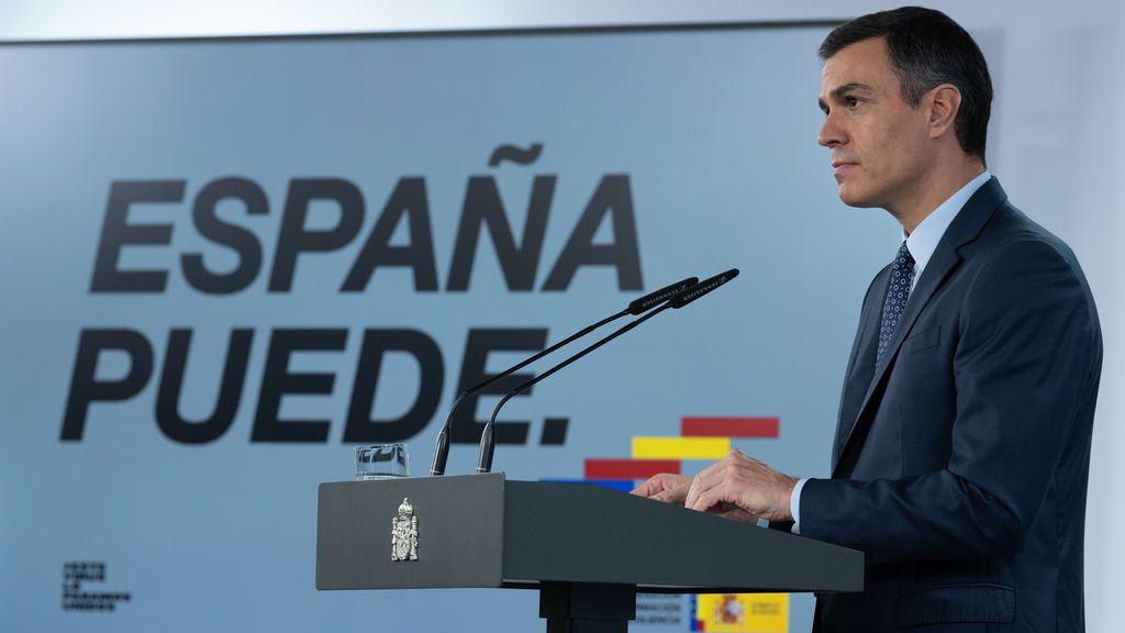 Sánchez da a las autonomías un estado de alarma 'a la carta' con la condición de prorrogarlo hasta mayo