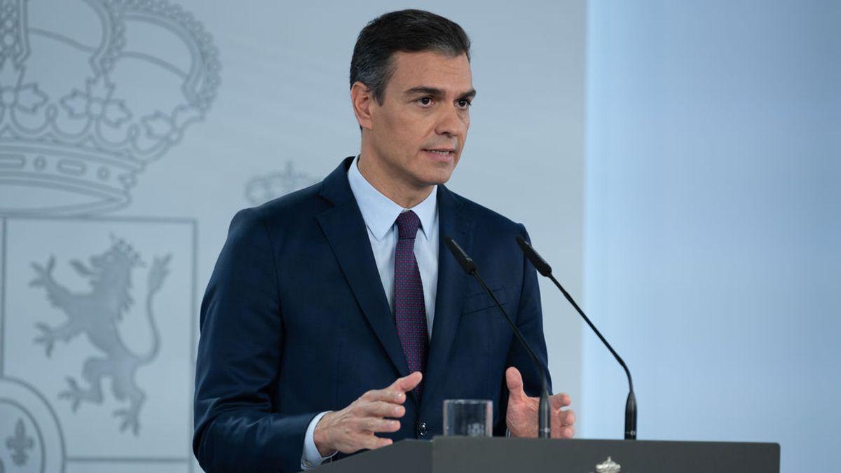 Sánchez decreta el estado de alarma en toda España y quiere extenderlo hasta abril