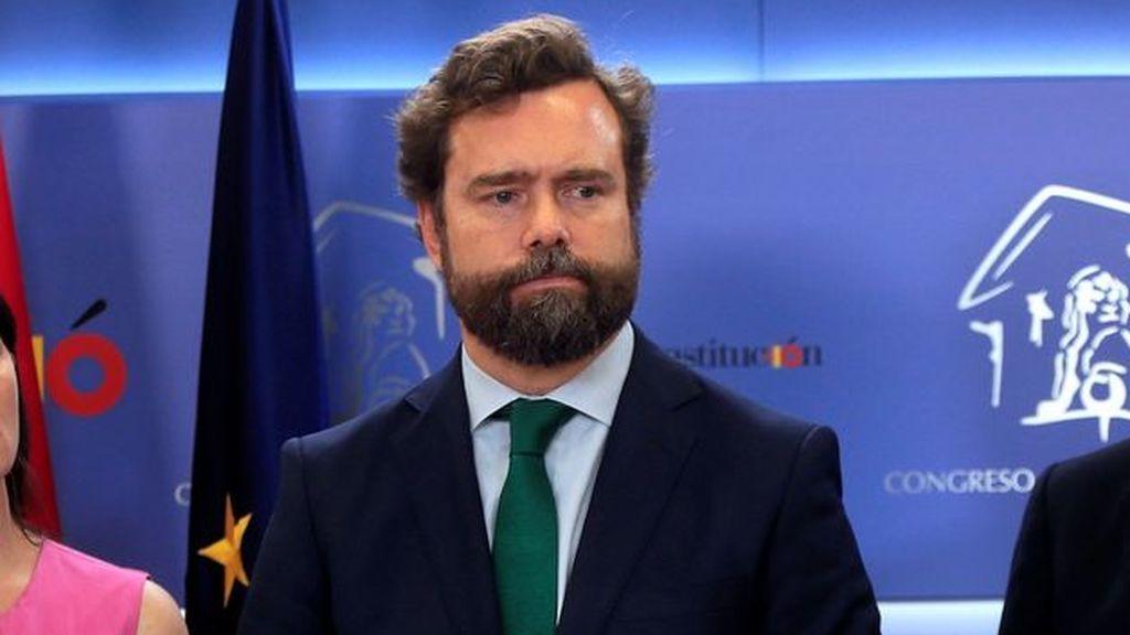 """Vox denuncia que con el nuevo estado de alarma España va """"camino del totalitarismo"""""""