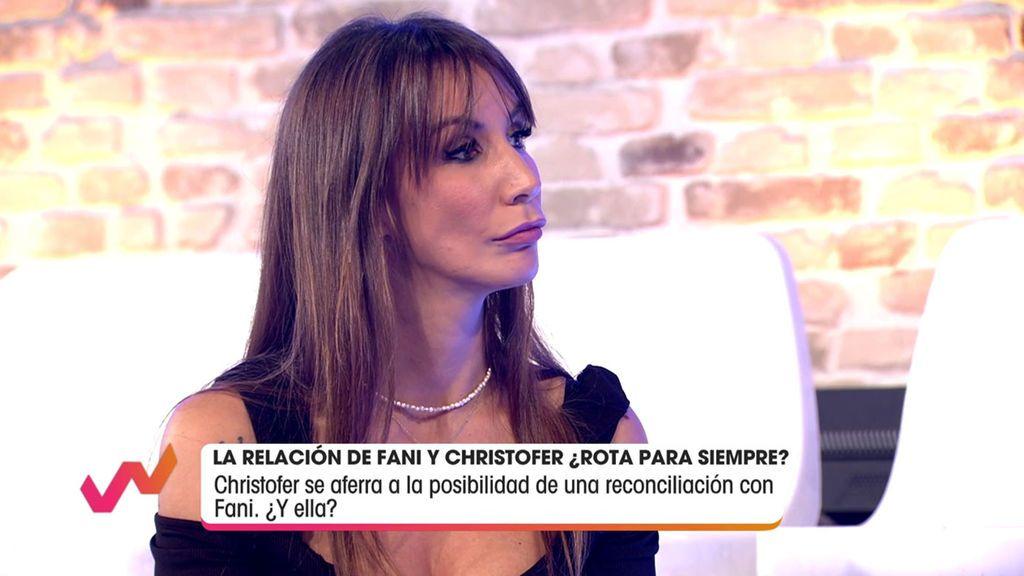 """Emma García, muy clara con Fany: """"No sabes cómo dejar a Christofer"""" Viva la vida 2020 Programa 344"""