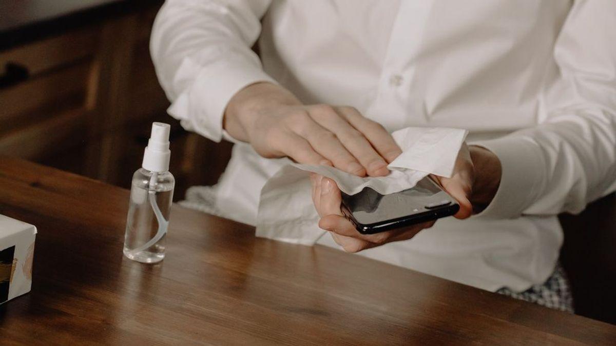 Mensajes sin virus: cómo limpiar y desinfectar el móvil