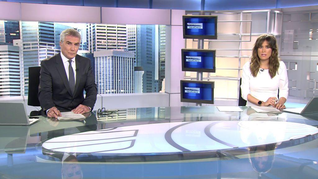 Con David Cantero e Isabel Jiménez Informativos Telecinco 2020 Mediodía 26/10/2020