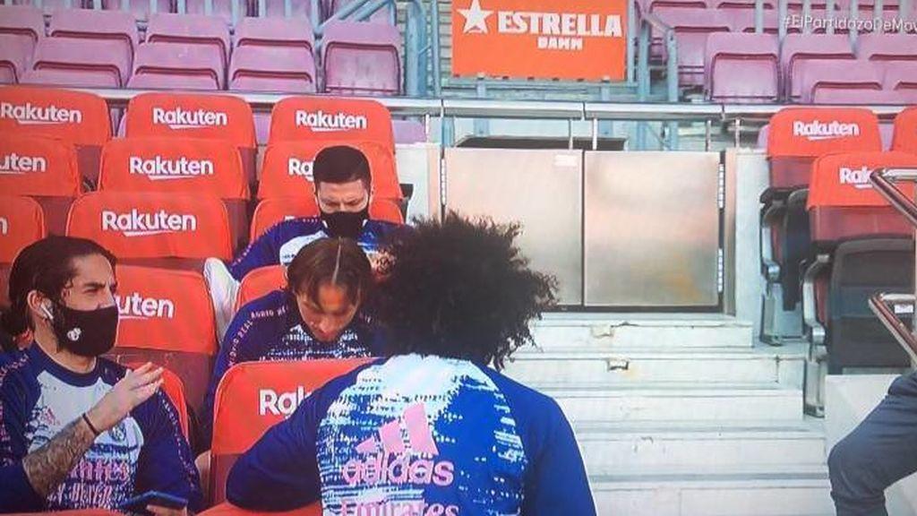 """Pillan a Isco rajando de los cambios de Zidane con Marcelo y Modric: """"Si me tiene que meter, me mete en el 80"""""""